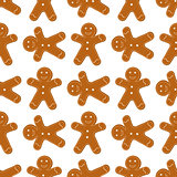 Gingerbread Cookies seamless