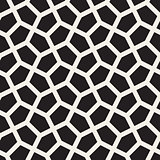 Vector Seamless Tessellation Geometric Pattern
