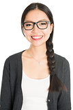 Young Asian female headshot