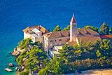 Bol church and monastery on Brac coast
