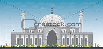 Al Fateh Grand Mosque in Manama City. Bahrain.
