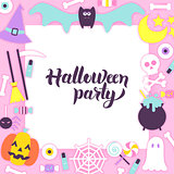 Halloween Party Paper Concept