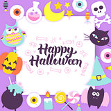 Happy Halloween Paper Template