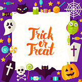 Trick or Treat Paper Template