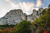 Amazing view of the mountain range