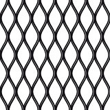 Texture black and white expanded metal sheet mesh.