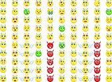 big emoticon set for your design