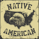 native American poster