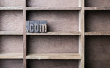 Wooden Letter .com