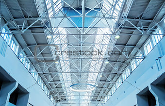 Skylight window - architectural background.