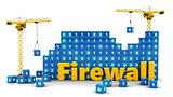 cranes building firewall
