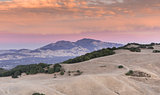Mt. Diablo Sunset. Contra Costa County, California, USA