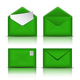 Set of Green envelopes