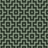 Knitting geometrical seamless pattern in muted colors