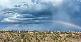 Rainbow over the city of Addis Ababa