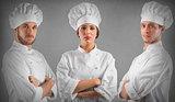 Professional team chef