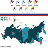 Krais of Russia