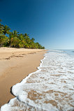 Tranquil summer day on Mission Beach, Queensland