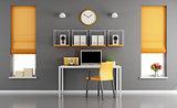 Modern home workspace