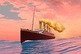 Titanic Passenger Liner