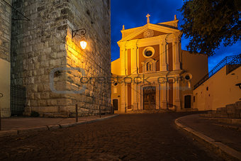Antibes, French Riviera, France: Church of the Immaculate Conception