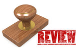 Review wooded seal stamp