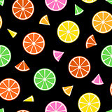 Fruit seamless pattern.