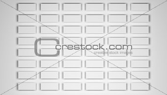 Blank white paper sheets