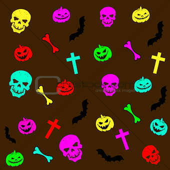 Abstract background Halloween