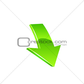Arrow icon. Vector
