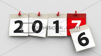 Calendar sheets 2017