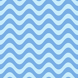 Simple seamless wavy line pattern