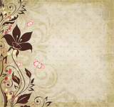 Vintage decorative background.