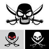 pirate skull flag symbol