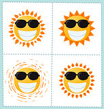 sun icon collection