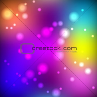 Bright blurred background, vector illustration.