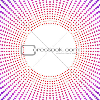 Abstract frame, vector illustration.