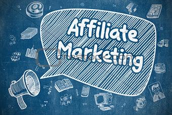 Affiliate Marketing - Business Concept.
