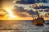 boat EDRO III shipwrecked