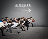 Direction success in business