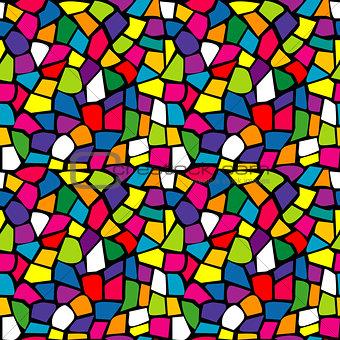 Bright mosaic texture