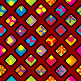 Happy wrapping paper design