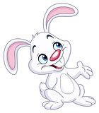 Bunny presenting