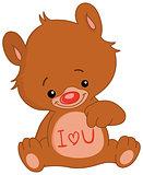 I love U bear
