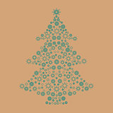 Christmas card background .