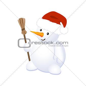 Christmas Cheerful Snowman