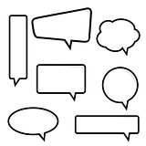 Speech Bubble, Vector