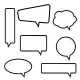 Speech Bubble, Vector