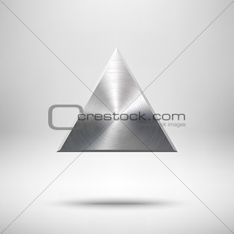 Abstract Triangle Button Template