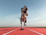Giant prehistoric monster